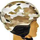 NEW Kids Snowboard Ski Skiing Snow Helmet White Silver Camo Kid Youth XS
