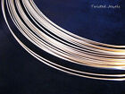 5Ft 14KY Gold-Filled Half Hard ROUND Jewelry Wire 16 18 20 21 22 24 26 GA Gauge