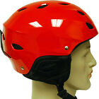 ASTM CE Snowboard Ski Skiing Snow Helmet Glossy Red Youth Adult XS S M L XL