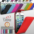 VARIOUS CASES PU LEATHER WALLET FLIP S LINE WAVE GEL FOR APPLE IPHONE 5 5S
