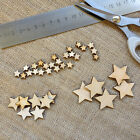 Mini wooden stars ideal in cardmaking scrapbooking embellishment art work