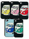1x VW Camper VAN SPLITSCREEN CLIP ON CASE , BACK COVER FITS IPHONE New iPhone 5