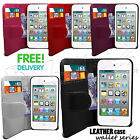 STYLISH GRIP SERIES WALLET CASE COVER FITS APPLE IPHONE 4 4S & FREE SCREEN GUARD
