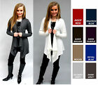 COZY SUPER SOFT LONG TIER CARDIGAN SWEATER WRAP S M L XL *many colors* QUALITY