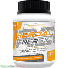 HERBAL ENERGY 60/120 TABS GINSENG LIFE GUARANA ENERGGY TREC NUTRITION FREE P&P