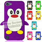Fits, iPod Touch 5 Case, 5th Gen Cover, Compatible For Apple, New Cute Penguin