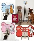 Steel HeavyDuty Secure Pet MULTI DOG HITCH Hitching Post Restraint Hook Tie Out