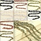 4m/2m Unfinished Woven Curb Chains Links 4.1x2.7x0.6mm/5.9x4x0.8mm Wholesale HOT