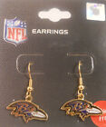 Baltimore Ravens Earrings Fashion Jewelry - Logo