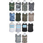 custom made flags cheap - USA Made Polyester/Cotton Tank Top Shirt - Workout, Summer, Gym, Exercise