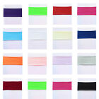Spandex Lycra Stretch Chair Cover Bands Replace Chair Sash Bow Colors Banquet