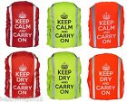 WATERPROOF BACKPACK RUCKSACK RAIN COVER WITH STOPPER SIZE M FREE UK DELIVERY