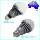 Brand New 3x 6W B22 Bayonet / E27 Edison Screw  Pure White/Warm White LED Bulb