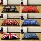DOG BED REMOVABLE ZIPPED COVER WASHABLE PET BED CUSHION COVER LARGE X LARGE
