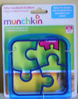 New Fun Lunch Box Silly Sandwich/ Pancake/cookie Cutter Kitchen Red Blue Green