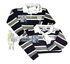 KIDS' LONG SLEEVE COTTON RUGBY SHIRT - EDINBURGH HIGH '62 - COLOURS & SIZES!