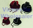 Jewelry String Pouches (2 sizes) (2 colors) - New - BUY MORE & SAVE