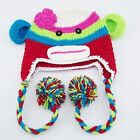 Baby Crochet Sock Monkey Hats Different Designs Available Handmade