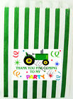 10 TRACTOR  PARTY BAGS, CAKE, LOOT GOODY BAGS Ref 01NWJ