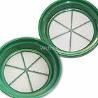 """2pc CLASSIFIER SIFTING PAN SET FOR YOUR GOLD PANNING """"YOUR CHOICE"""" of size"""