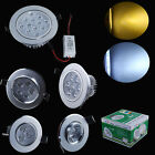 3W LED Ceiling Light Cabinet Downlight Fixture Recessed Lamp w/ Driver 110-240V