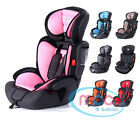 Mcc&reg;  3in1 Convertible Child Baby Car  Seat Safety Booster Group 1/2/3 9-36 kg <br/> Harness System Made in Spain✔ Choose from 9 designs✔