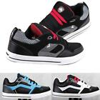 MENS TRAINERS BOYS CASUAL BASEBALL LACE UP SKATE SKATER SCHOOL SHOES BOOTS SIZE