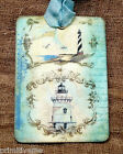 Hang Tags  LIGHTHOUSE BEACH OCEAN TAGS or MAGNET #389  Gift Tags