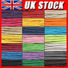 10M 1.0/1.5mm Waxed Coated Wax Cotton Cord String Linen Jewelry Bracelet Making