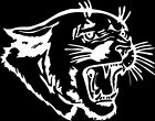 Panther #3 Window Wall Vinyl Decal Sticker Printed Mascot Graphic