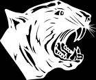 Panther #4 Window Wall Vinyl Decal Sticker Printed Mascot Graphic
