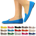 BRAND NEW GIRLS SLIP ON FLAT BALLERINAS LADIES FAUX SUEDE CASUAL SHOES SIZE 3-8