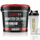 MASS PROTEIN WEIGHT GAINER - ALL FLAVOURS - 4KG FROM MATRIX NUTRITION