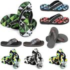 MENS URBAN BEACH SUMMER SANDALS OLDER BOYS CASUAL FLIP FLOPS MULES SHOES SIZE