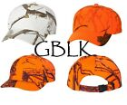 2 Kati Structured Camo Cap SN200 Mossy Oak Blaze Orange Realtree Snow White Hat