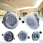 10 X 5W/3W/1W LED Recessed Cabinet Ceiling Down Light Fixture Lamp Complete Kits