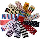 Lovely Kids Toddler Soft Leggings Leg Warmers Socks Age 0-6Y 17colors Choice New