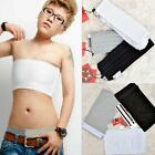 SHO Les Lesbian Tomboy White Black Strapless Chest Binder Tops New Style Perfect