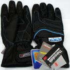 All Weathers Leather Waterproof Thermal Winter Motorcycle Motorbike Gloves