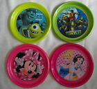 Plastic Plates/ Bowls/ Cutlery - Monsters University, Turtles, Minnie, Princess