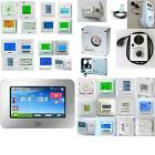 Digital Raum Thermostat Temperatur Regler LCD Touch Screen Uhren Programm Wasser