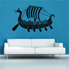 Viking Long Boat Decal Vinyl Wall Sticker Historic Art Décor Nordic