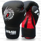 Boxing Gloves Fight Punch Bag Mitt MMA Muay Thai Grappling Pads Rex Leather