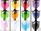 New Dancewear Polyester With Tassel Performance Belt 13 Colors Free Shipping