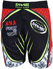 Farabi F2W MMA short grappling cage fight kick boxing board black, S M L XL XXL