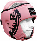 Farabi boxing head guard mix martial arts kick training pink protection headgear