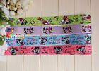 "1"" Mickey&Minnie Printed Grosgrain Ribbon hair Bow Craft 5/10/20/50/100 Yards"