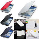 New PU Leather Flip Cover Protector Hard Case For Samsung Galaxy Note II 2 N7100