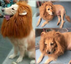 Pet Costume Lion Mane Wig for Dog Cat Halloween Clothes Fancy Dress up with Ears