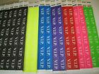 "Внешний вид - VIP Tyvek Wristbands Event Party 3/4""Consecutive  Select Quantity/Color"